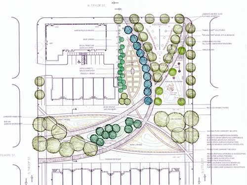 Roosevelt Square: plan